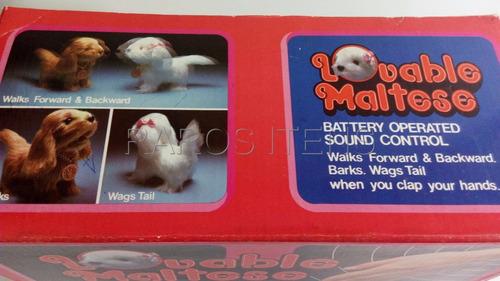 cachorrinho maltês déc.1980 pilha sound control veja vídeo