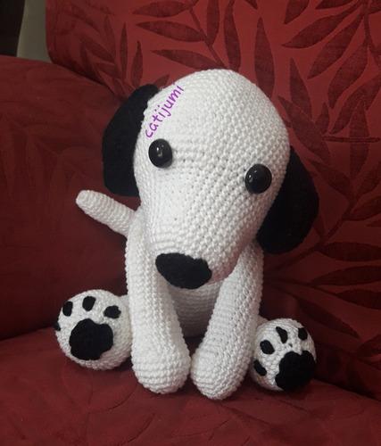 cachorro amigurumi- crochê