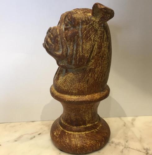 cachorro de madeira com 30% de desconto