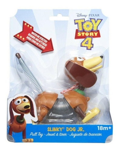cachorro de mola slinky dog jr toy story 4 disney slink orig