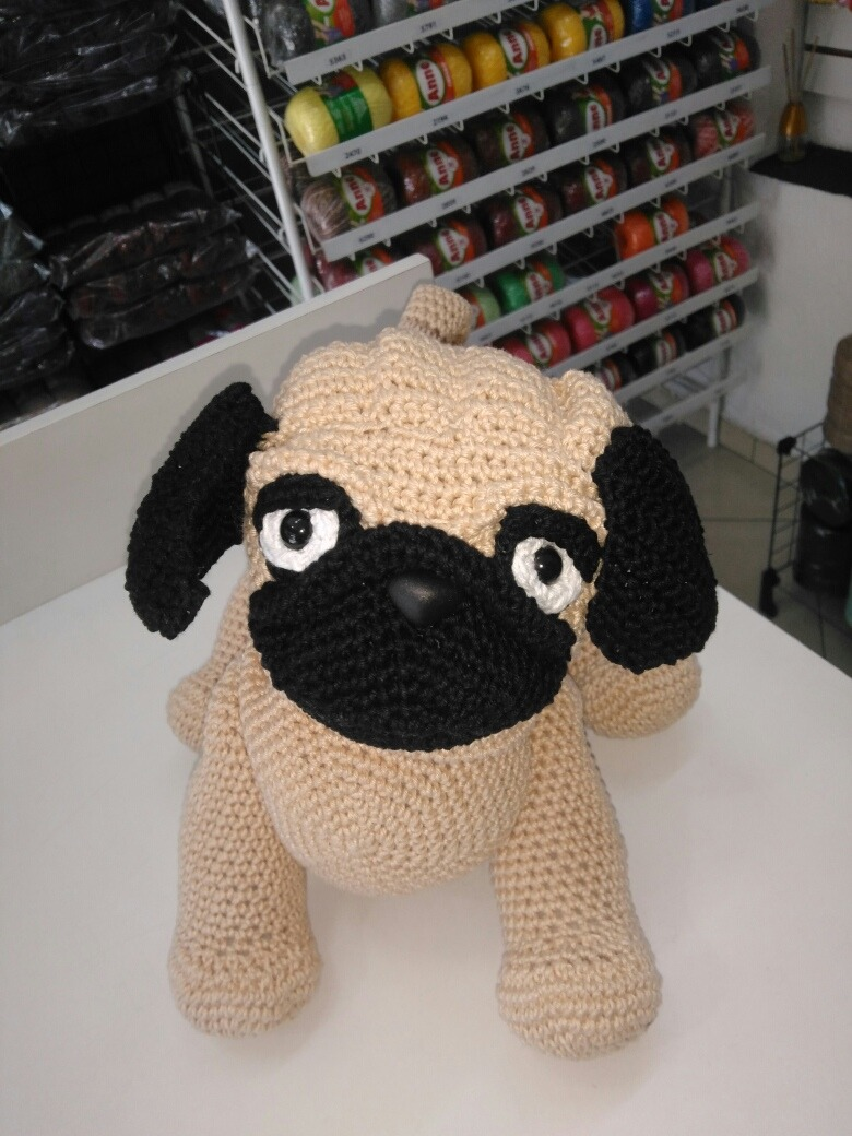 Mr. Pug amigurumi pattern by DIY Fluffies | Tortuga amigurumi ... | 1040x780