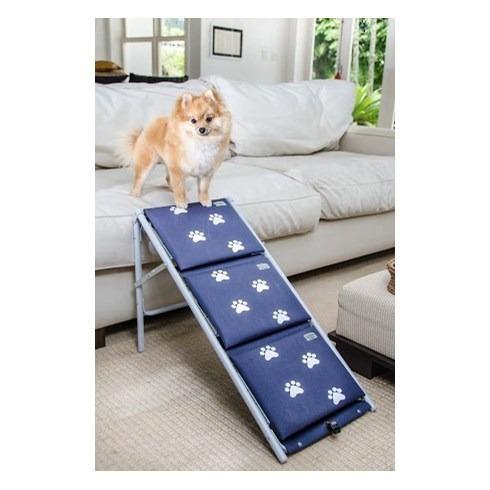 cachorro rampa escada
