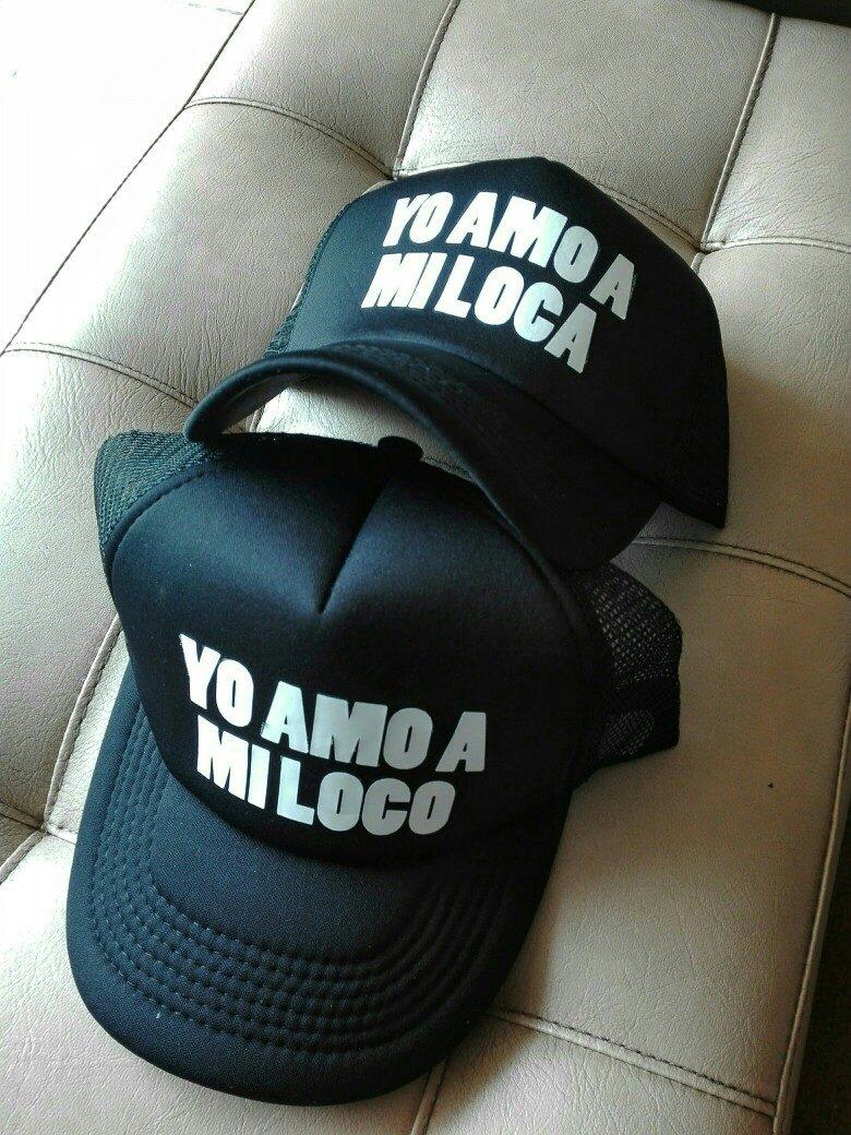 Cachuchas - Gorras Yo Amo A Mi Loc  (parejas)(promoción) -   26.000 ... 4a637bd2466