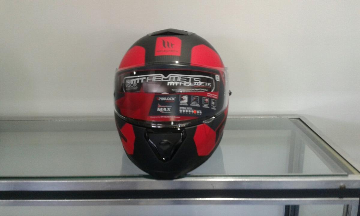 f024328d Caco Mt Helmets Thunder 3 Doble Visor - $ 5.500,00 en Mercado Libre