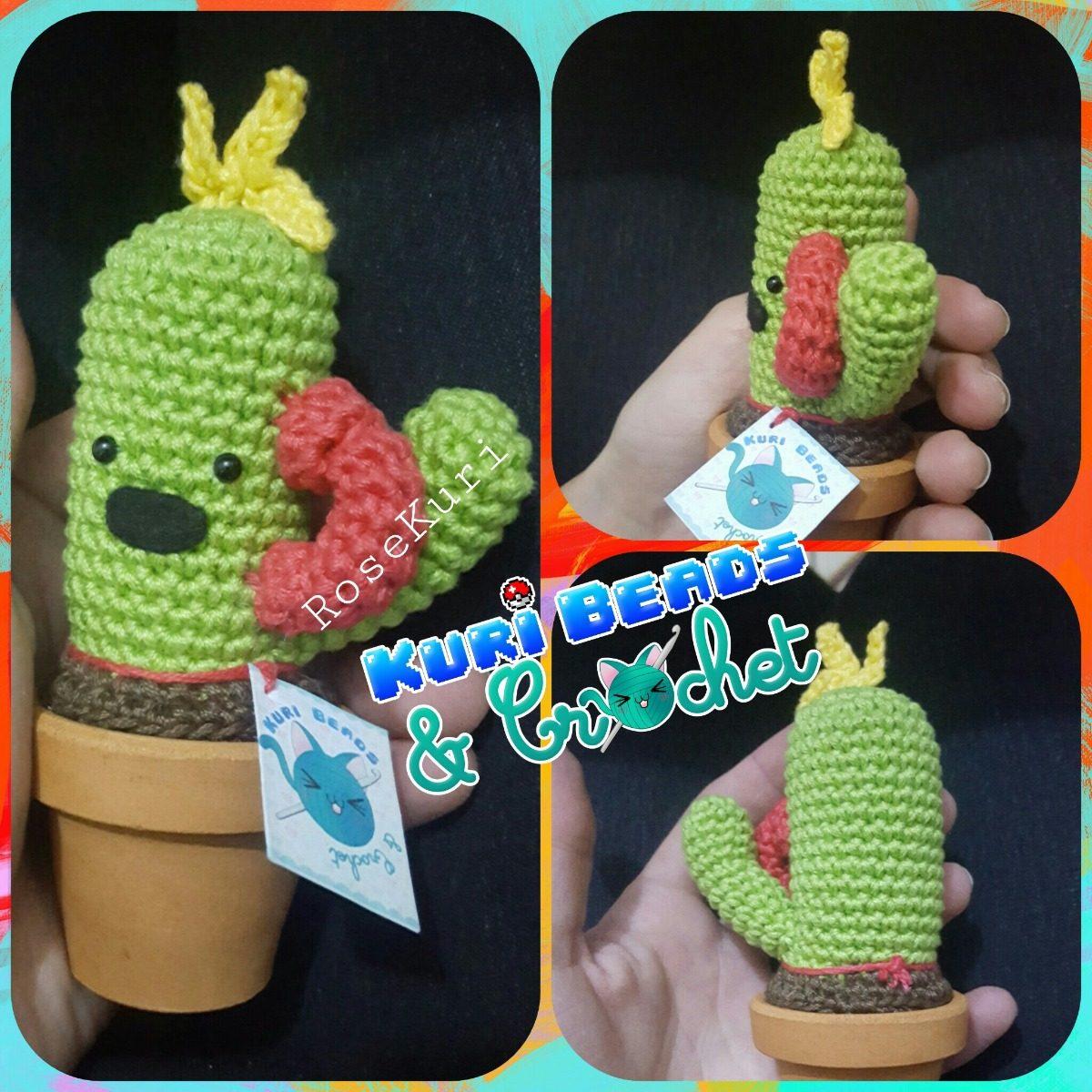 Patrón cactus amigurumi crochet tejido ganchillo instrucciones | Etsy | 1200x1200