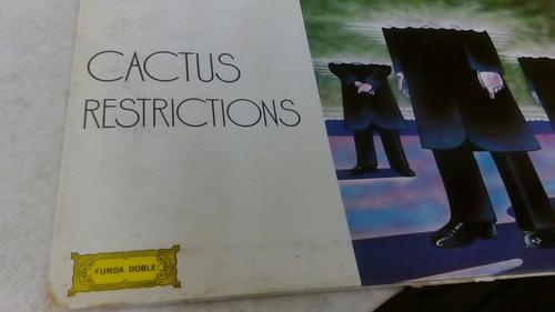 cactus restrictions funda doble rock power