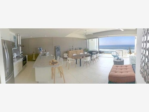 cad areia d 601 terraza con vista al mar. elevador privado