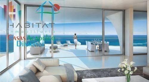 cad arezza en tres vidas preventa. terraza con vista al mar