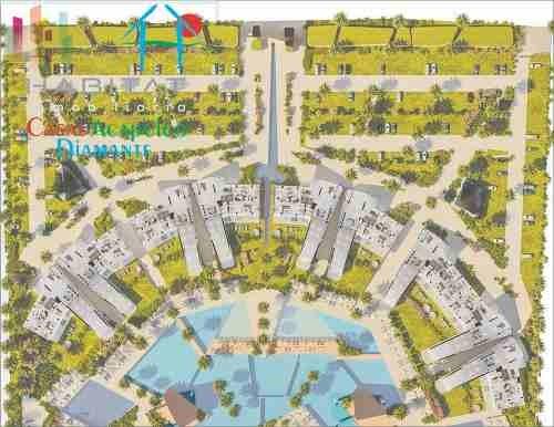 cad arezza - tres vidas gardenh con jardín privado y alberca