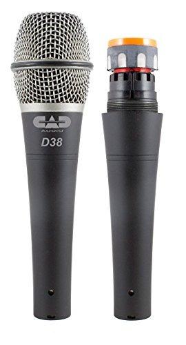 cad audio d38x3 pack de 3 d38 supercardioide instrumento din