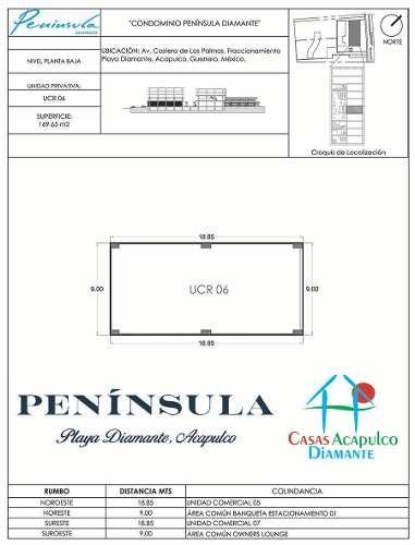 cad condominio península local comercial a6. nuevo