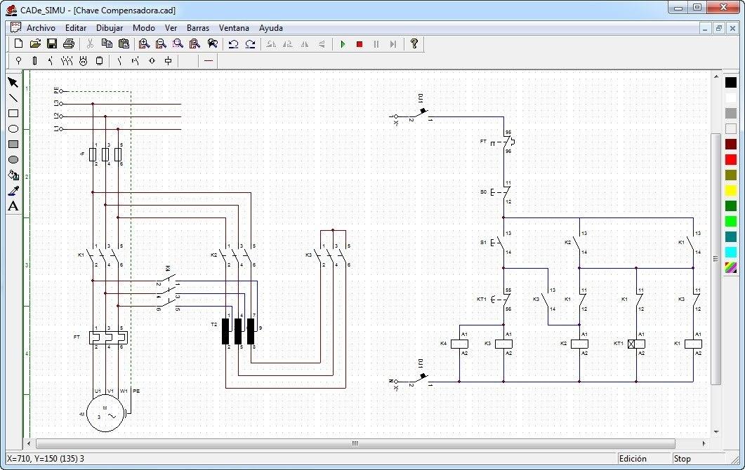 Circuito Eletricos : Cad e simu simulador para circuitos elétricos r