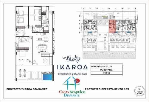 cad ikaroa 1 105. cuarto de servicio, terraza, jacuzzi