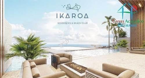 cad ikaroa residences 1 101. de playa con jacuzzi y terraza