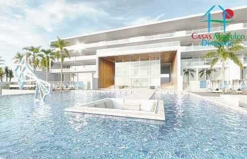 cad ikaroa residences 3 207. terraza con jacuzzi. de playa