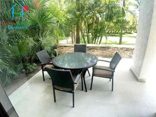 cad la isla gran caimán gh 105. terraza con jardín privativo