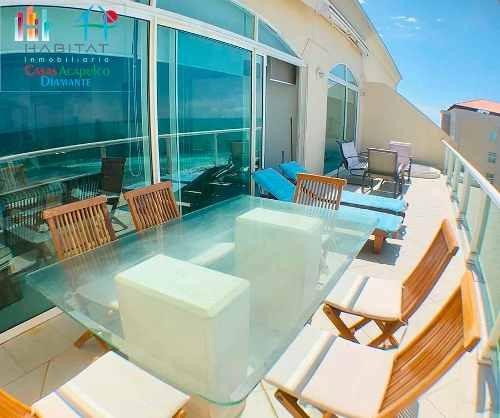 cad maralago e 1401 terraza con jacuzzi y vistas al mar