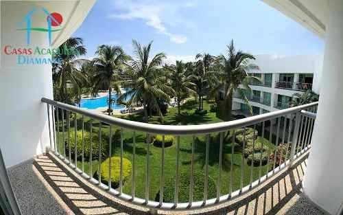 cad mayan lakes 3-304 balcón vista a los jardines y alberca