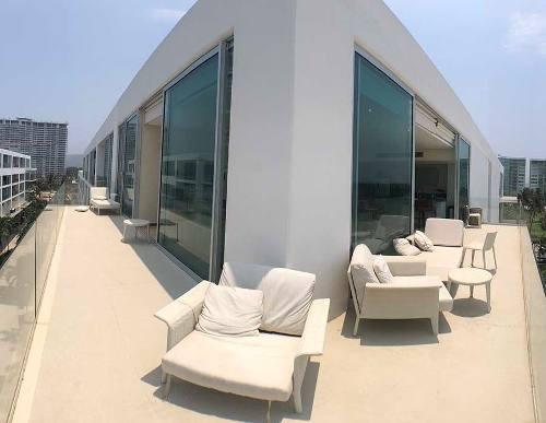 cad península loft b 430 terraza doble frente. vista al mar