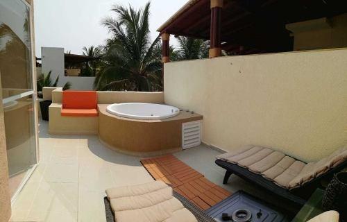 cad terrasol residencial 461. roof garden, jacuzzi