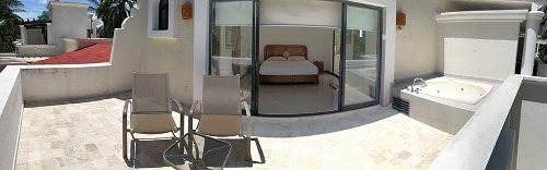 cad villas golf villa 33 roof garden con jacuzzi