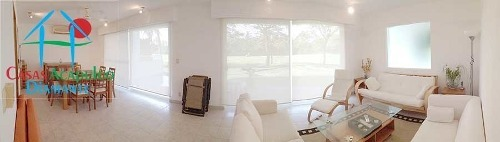 cad xel-ha 37 terraza y vista al campo de golf de mayan