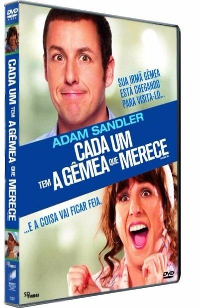 Cada Um Tem A Gemea Que Merece Comedia Dvd Orig Novo Lacrado - R$ 45,00 em  Mercado Livre