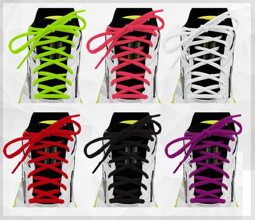 cadarço nylon para tênis nike adidas mizuno asics