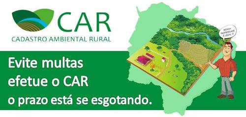 cadastro ambiental rural faça já o seu.