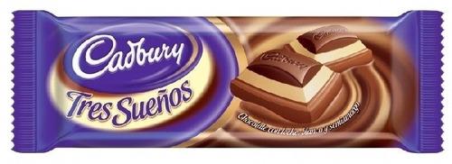 cadbury tab tres sueños 80 gr