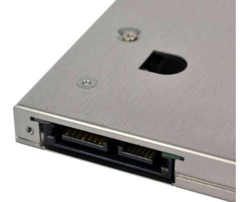 caddy adaptador para ssd dvd de notebook - 9.5mm
