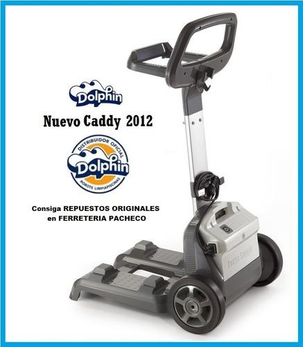 caddy carrito robot dolphin universal en stock envios