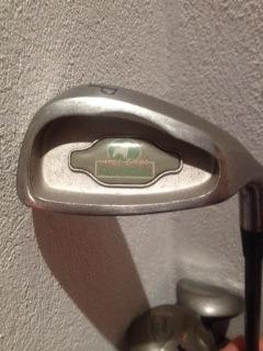 caddy de golf, juego de palos completo. purdition hot shot