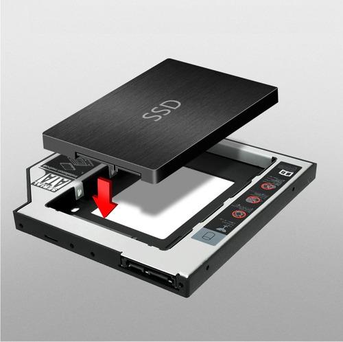 caddy disco duro 9.5 , 12.7mm macbook pro, ssd universal