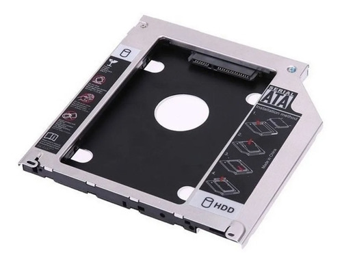 caddy disk sata 2,5 - 12,7mm - nm-cad2 - netmak - aj hogar