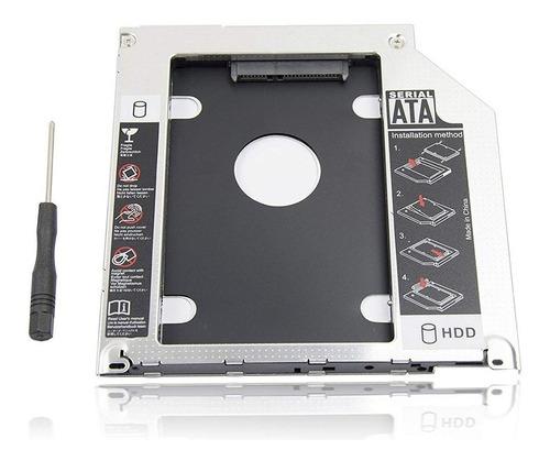 caddy hdd ssd disco duro para portatil o mac sata 9.5mm