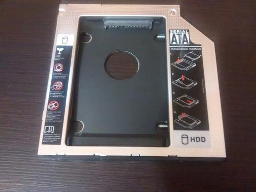 caddy ide & sata, 9.5 & 12.7mm, adaptador segundo disco sata