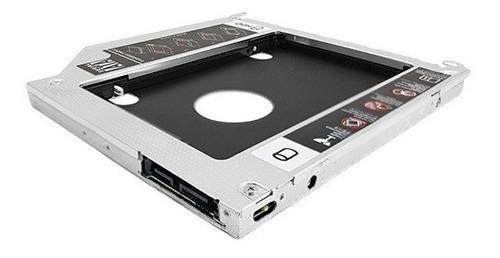 caddy para discos sata 2.5 para mac de 9.5mm nisuta ns-cadm9