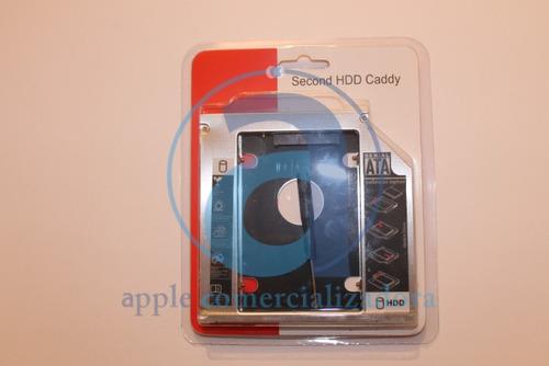 caddy para hdd imac 2 discos duros en tu imac 2009-2012