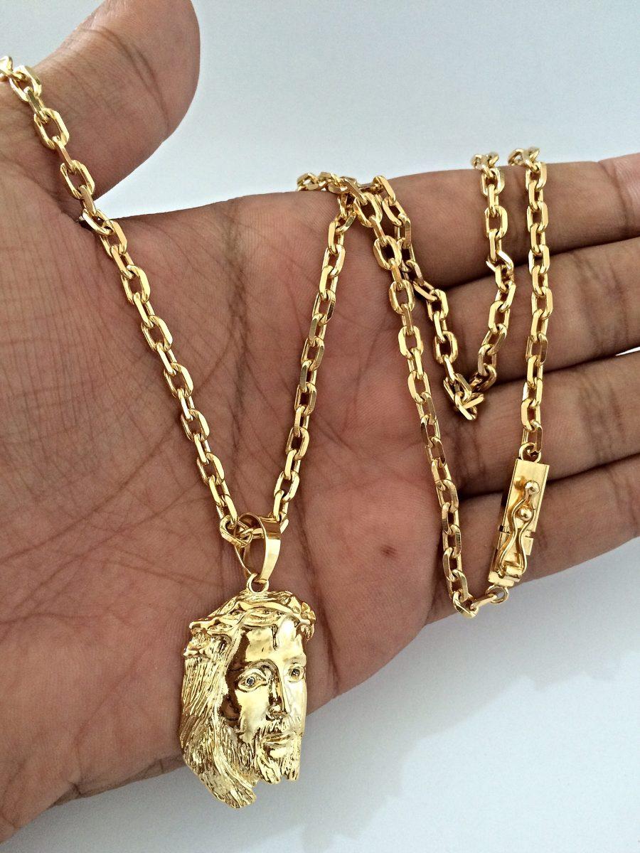 635e3841946 cadeado 3mm semi jóia folheado a ouro 18k. Carregando zoom.