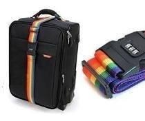 cadeado com senha e fita para malas de viagem bagagem