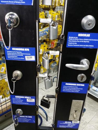 cadeado multi-t-lock g47 7x7.2 chaves multi