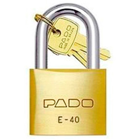 935406bd55ae2 Kit 10 Cadeado Pado Segredos Diferentes - Segurança para Casa no ...