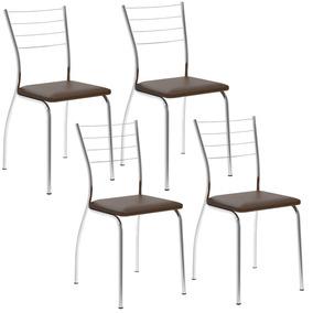 3bc7ec7261 Cadeira Cromada Carraro 1700 no Mercado Livre Brasil