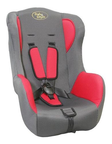 cadeira 9 a 18kg baby style vermelha (nova c/ garantia)
