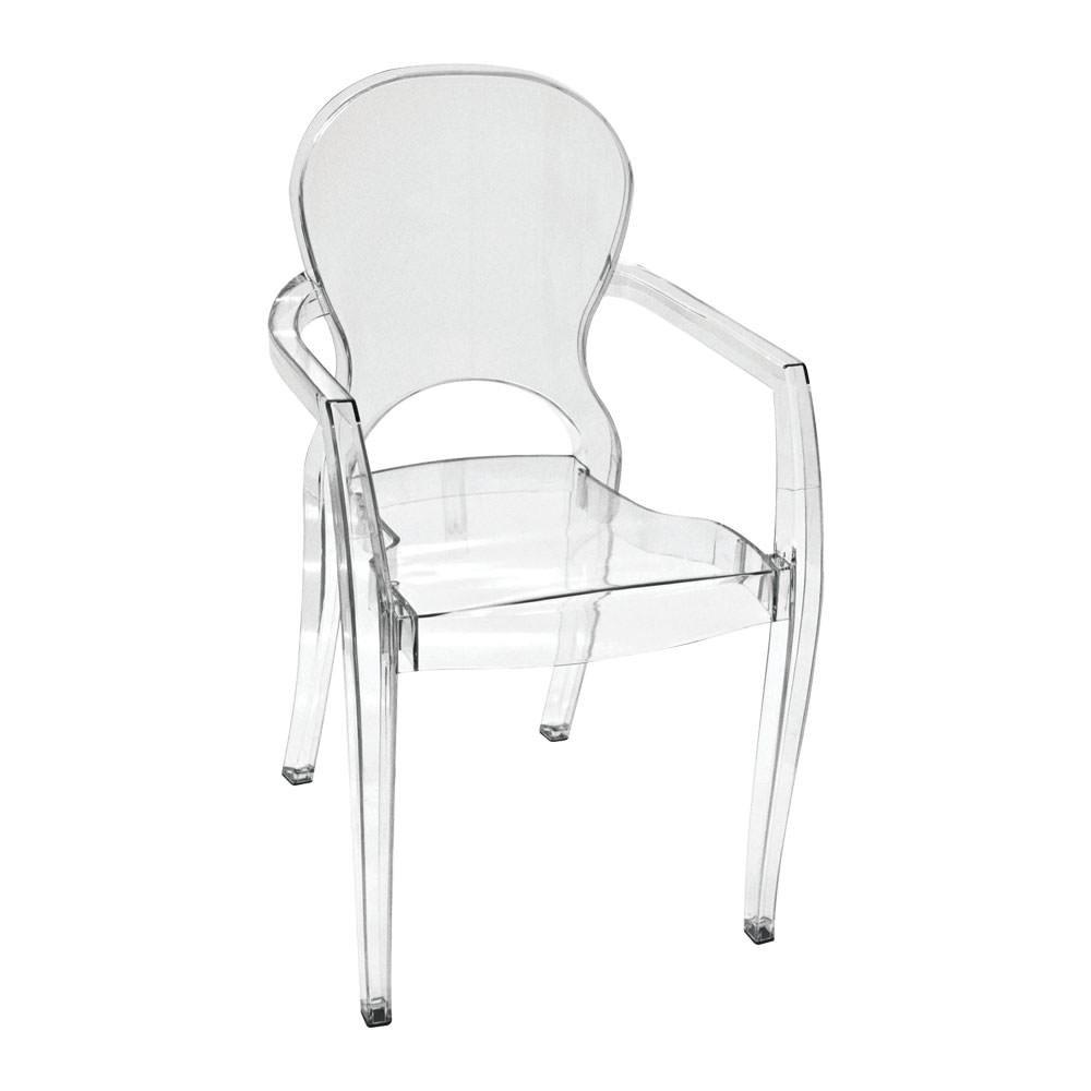 Cadeira Acr Lica Elegance Com Bra O R 289 90 Em Mercado Livre -> Cadeiras Acrilico Azul Turquesa