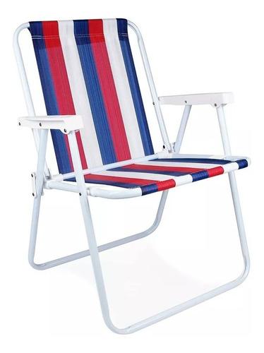 cadeira alta de praia da mor cores sortidas