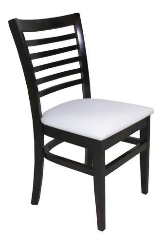 cadeira amábile estofada, sala de jantar, restaurante, bares