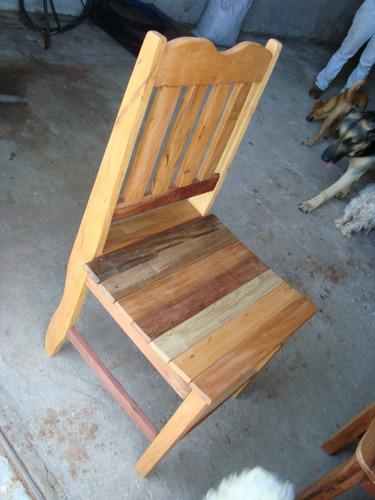 cadeira anatômica em madeira de demolição. peróba rosa.