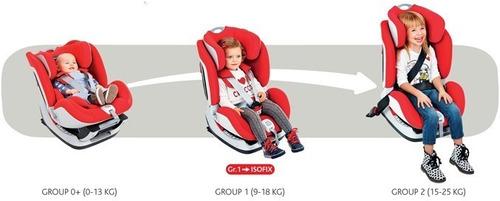 cadeira auto bebê chicco isofix seat up - black